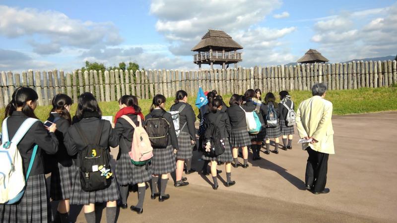 吉野ヶ里遺跡を見学