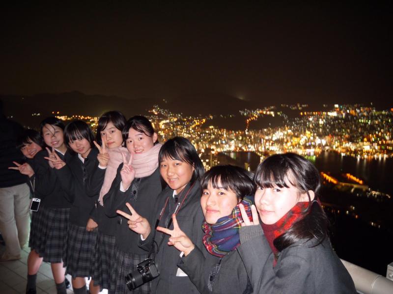 稲佐山から夜景を堪能