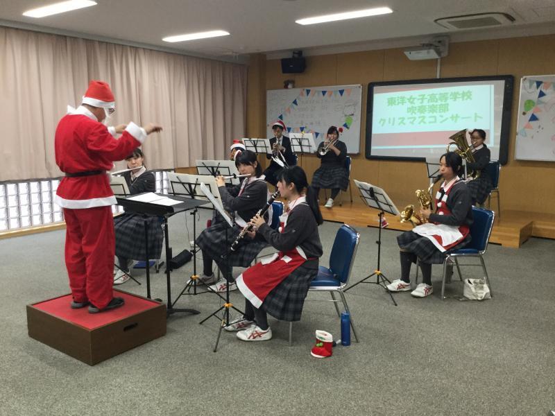 クリスマスコンサート開催