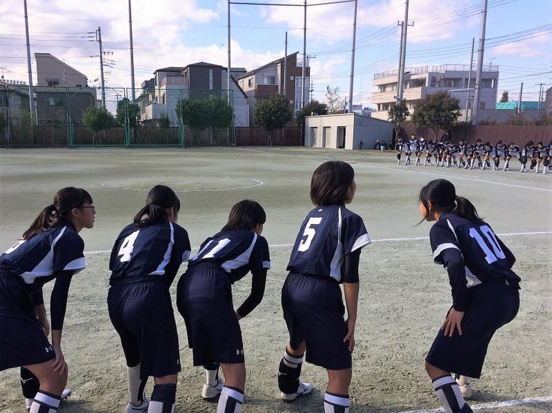 二試合目は富士見高校と対戦