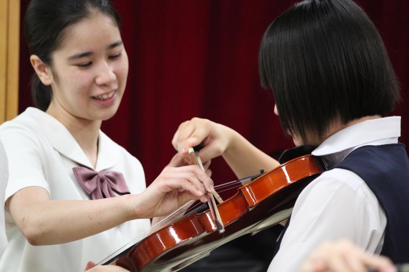 体験授業(音楽)