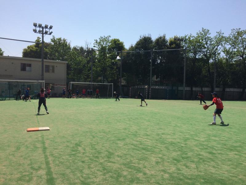 合同練習 at 杉並学院 | ソフトボール部Blog