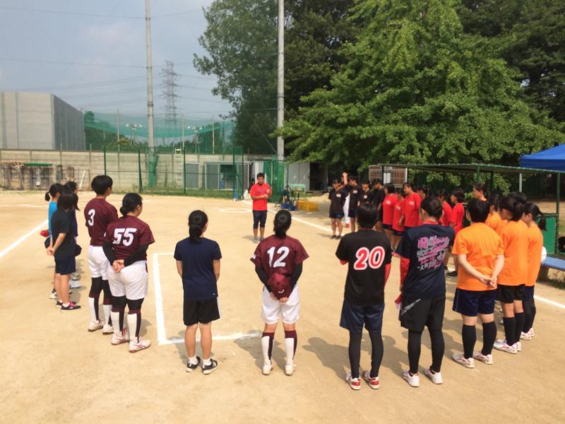 ソフトボールセミナー2日目 at 東京理科大学