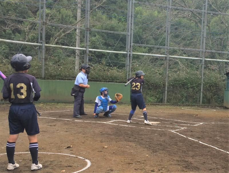 東京都高等学校ソフトボール新人大会 at 吉祥女子高校八王子キャンパス