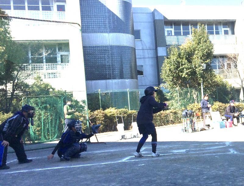 練習試合 at 佼成学園女子