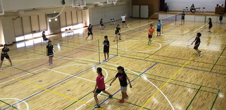 貞静高校と練習試合を実施しました。