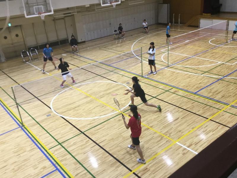 村田女子と練習試合を実施しました。
