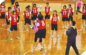 球技大会を創る