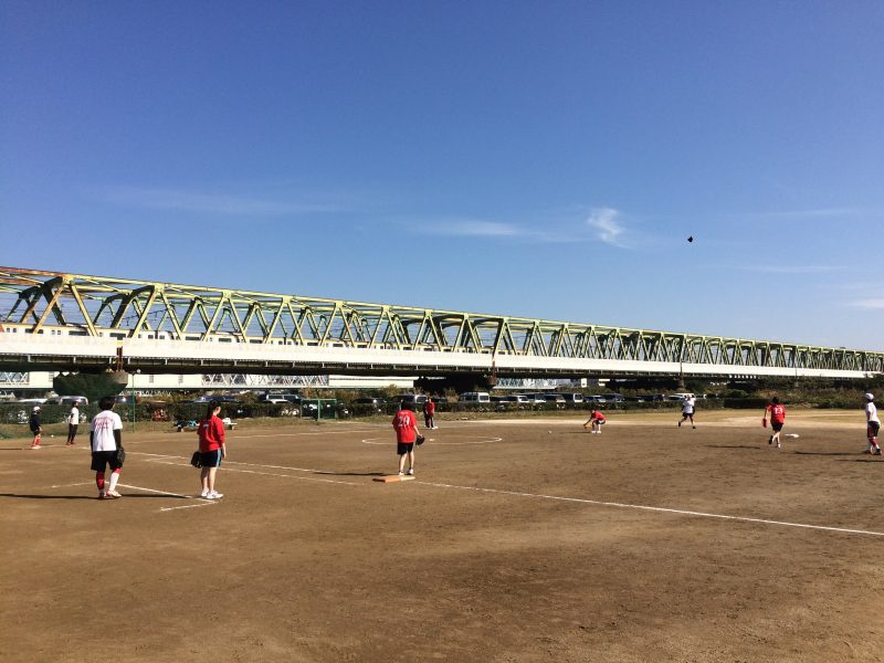 合同練習 at 江戸川女子高校グラウンド