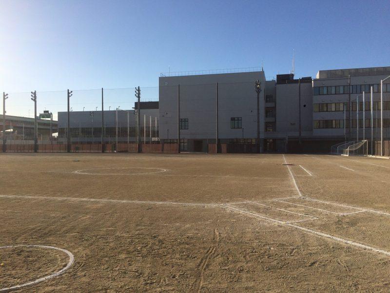 練習試合 at 都立江北高校