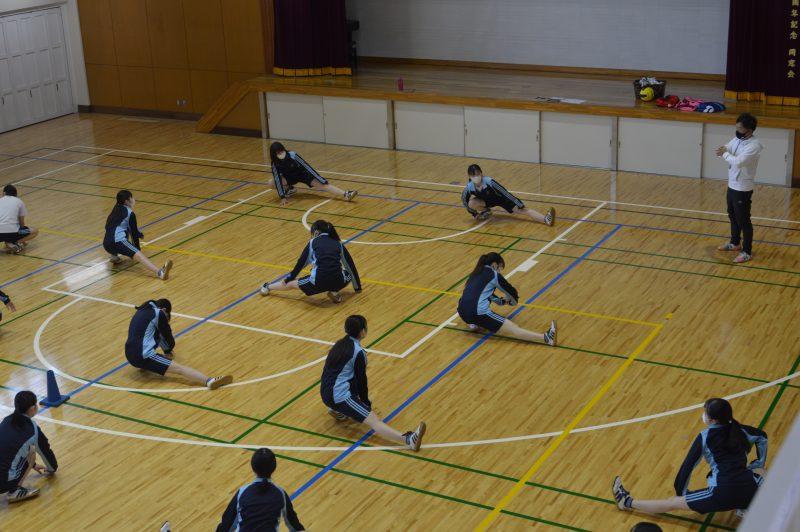 東洋女子の体育について